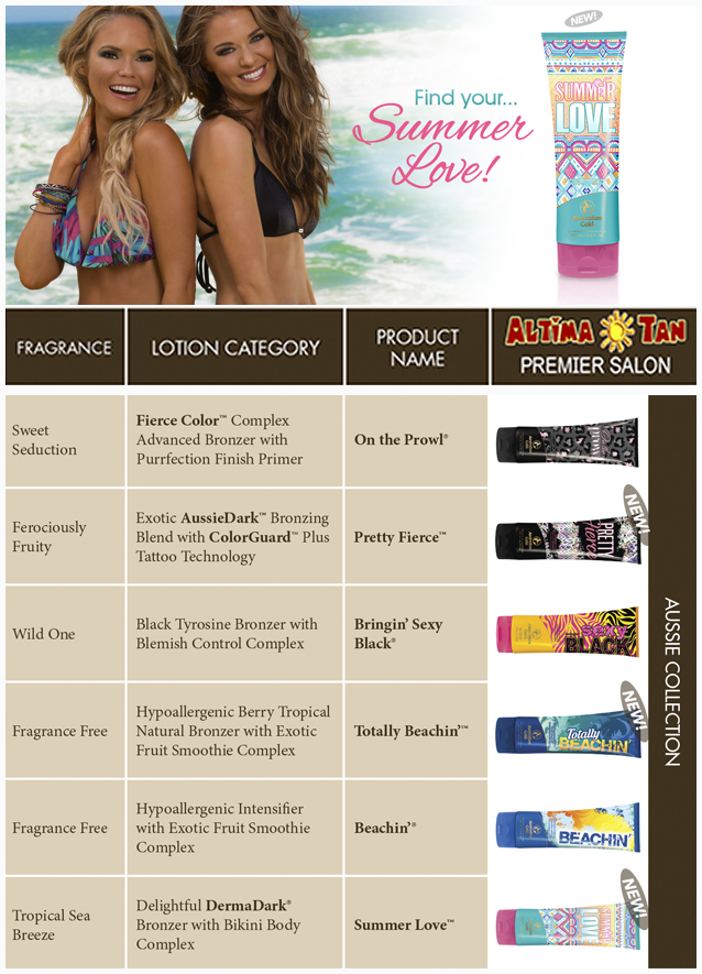 Summer Love Products