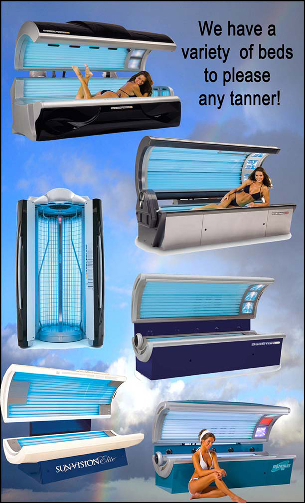 Latest Tanning Beds