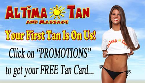 Free Tan Card