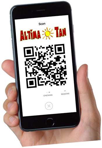 Scan Altima Tan Code To Grab Offer